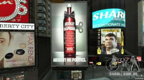 Time Square Mod para GTA 4 nono tela