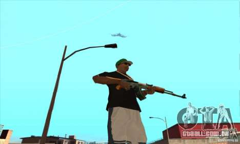 WEAPON BY SWORD para GTA San Andreas décimo tela