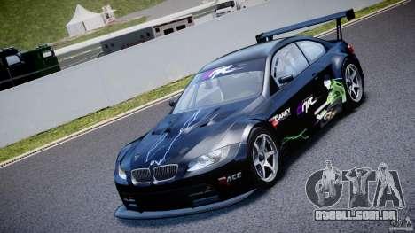 BMW M3 GT2 Drift Style para GTA 4 vista interior