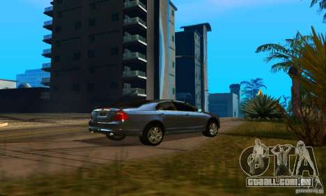 Ford Fusion Sport para GTA San Andreas traseira esquerda vista