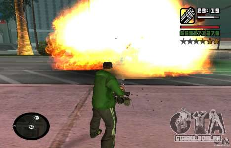 New Effects [HQ] para GTA San Andreas segunda tela