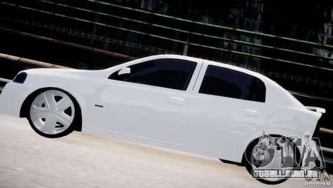 Chevrolet Astra Advantage 2009 para GTA 4 esquerda vista