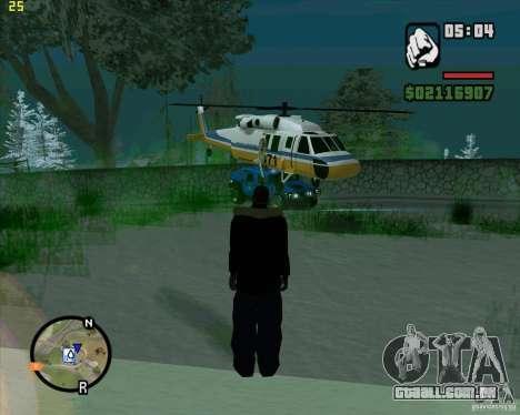 U.S.M.C. Desant para GTA San Andreas segunda tela