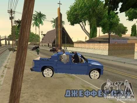 Ballas 4 Life para GTA San Andreas sétima tela