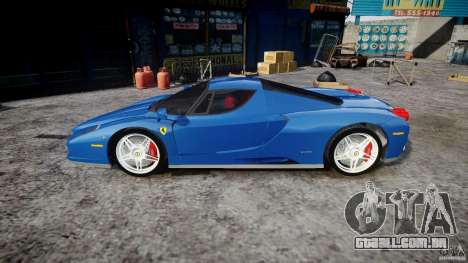 Ferrari Enzo para GTA 4 esquerda vista
