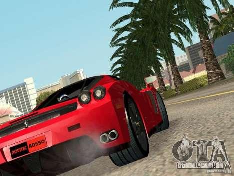 Ferrari Enzo Novitec V1 para GTA San Andreas esquerda vista