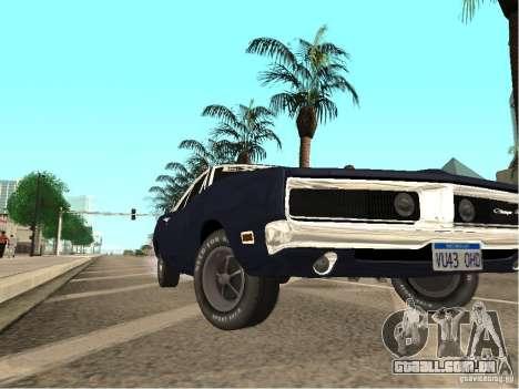 Dodge Charger RT Light Tuning para GTA San Andreas vista direita