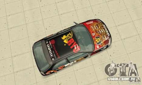 Honda-Superpromotion para GTA San Andreas vista direita