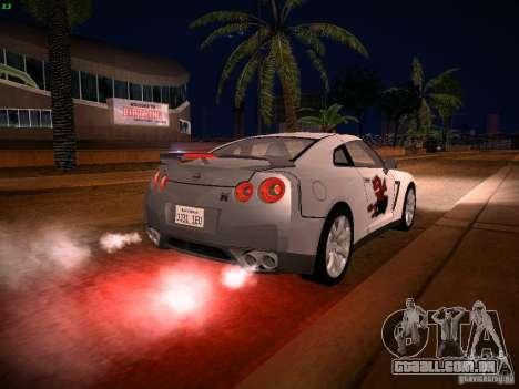 Nissan GT-R para o motor de GTA San Andreas