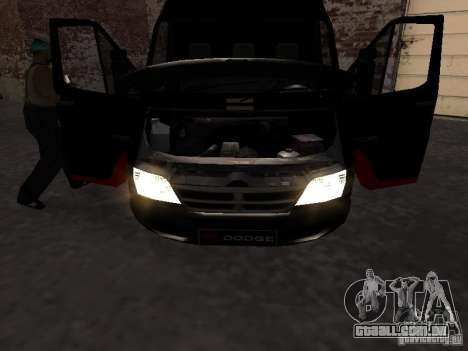 Dodge Sprinter Van 2500 para GTA San Andreas vista direita