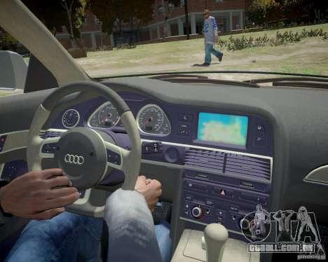 Audi A6 Avant Stanced para GTA 4 vista lateral