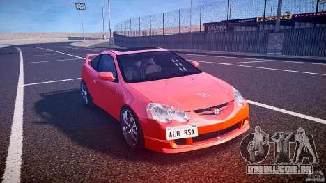 Acura RSX TypeS v1.0 stock para GTA 4 vista de volta