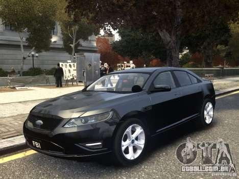 Ford Taurus FBI 2012 para GTA 4