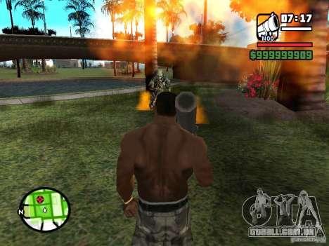 Predador para GTA San Andreas terceira tela