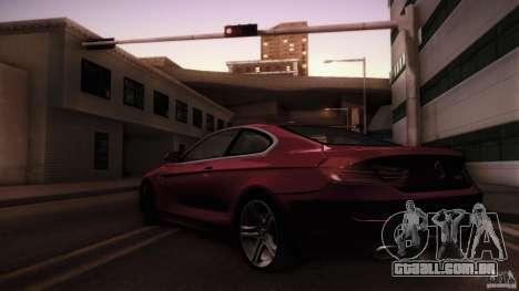 BMW 640i Coupe para GTA San Andreas esquerda vista