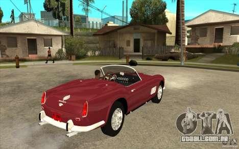 Ferrari 250 California 1957 para GTA San Andreas vista direita