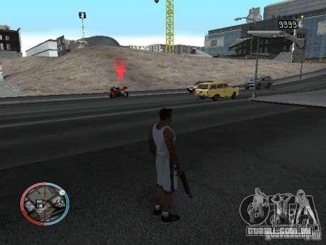 SUPER BIKE MOD para GTA San Andreas por diante tela