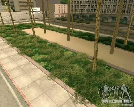 Novas texturas, Hospital Geral de todos os Santo para GTA San Andreas quinto tela