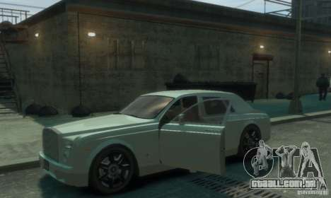 Rolls-Royce Phantom para GTA 4 vista superior