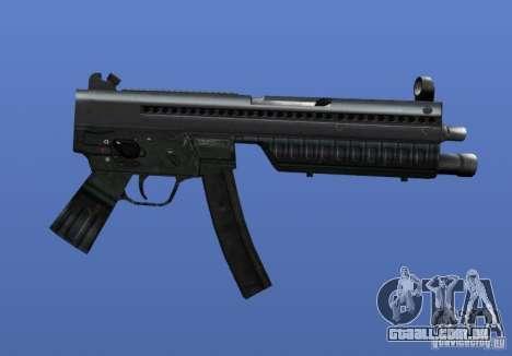 Heckler & Koch MP5 para GTA 4 por diante tela