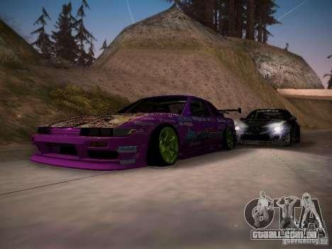 Nissan Silvia S13 Team Burst para GTA San Andreas interior