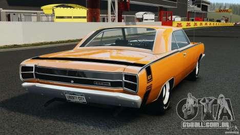 Dodge Dart GTS 1969 para GTA 4 traseira esquerda vista