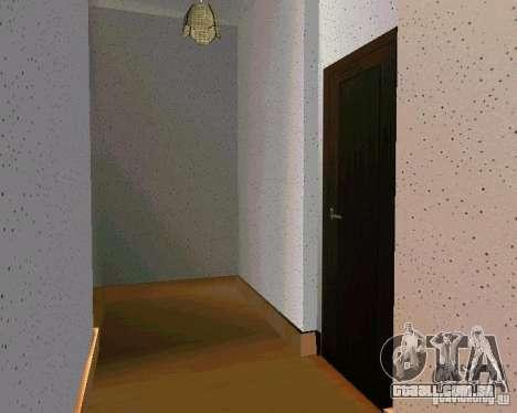 Nova casa CJ v. 2.0 para GTA San Andreas quinto tela