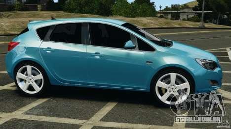 Opel Astra 2010 v2.0 para GTA 4 esquerda vista