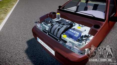 Fiat Palio 1.6 para GTA 4 vista de volta