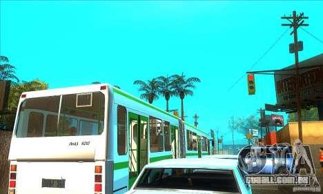 Trailer de Liaz 6212 para GTA San Andreas esquerda vista