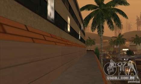 O novo hospital em HP para GTA San Andreas quinto tela