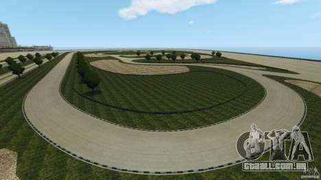 Dakota Raceway [HD] Retexture para GTA 4 oitavo tela