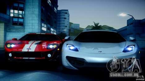 Direct B 2012 v1.1 para GTA San Andreas por diante tela