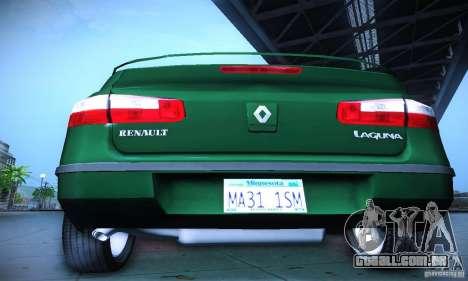 Renault Laguna 2 para GTA San Andreas vista interior