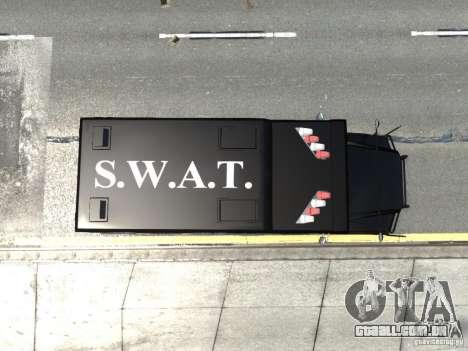 SWAT - NYPD Enforcer V1.1 para GTA 4 vista de volta