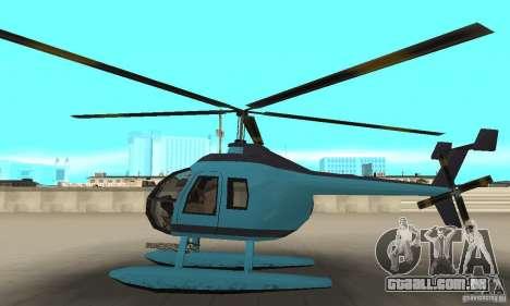Nova Seaspar para GTA San Andreas esquerda vista
