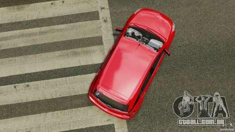 Chevrolet Agile para GTA 4 vista direita
