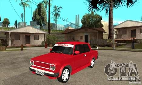 VAZ 2101 2 portas coupe para GTA San Andreas