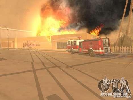 Terremoto para GTA San Andreas sexta tela