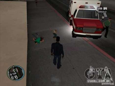 GTA IV LIGHTS para GTA San Andreas quinto tela