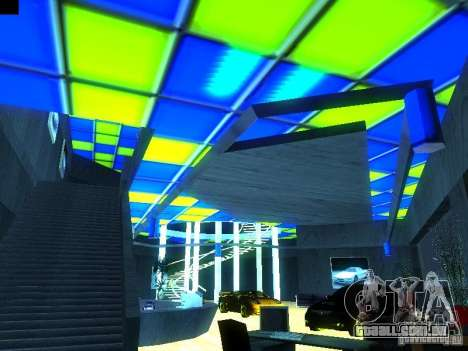 Novo showroom em San Fiero para GTA San Andreas terceira tela