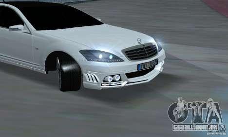 Mercedes-Benz S65 AMG Edition para GTA San Andreas vista direita