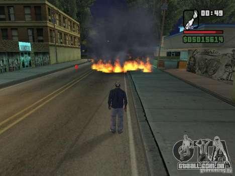 New Realistic Effects para GTA San Andreas quinto tela
