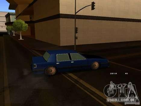 Willard Drift Style para GTA San Andreas vista direita