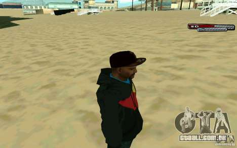 Drug Dealer HD Skin para GTA San Andreas terceira tela