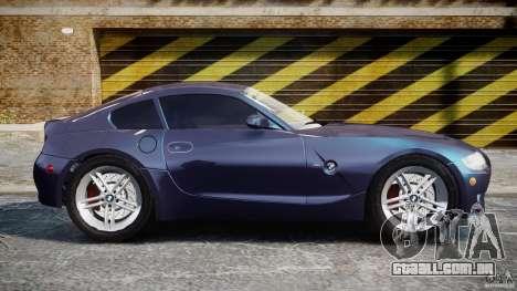 BMW Z4 V3.0 Tunable para GTA 4 vista interior