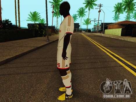 Mario Balotelli v2 para GTA San Andreas terceira tela