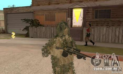 Atirador de pele para GTA San Andreas segunda tela