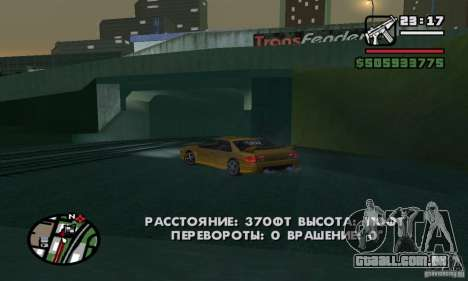 RC veículos para GTA San Andreas quinto tela