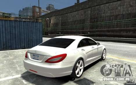 Mercedes-Benz CLS 350 para GTA 4 vista direita